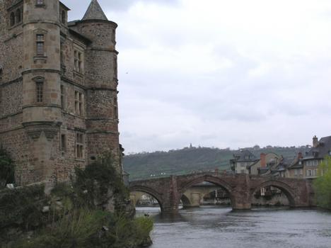 Pont Vieux (pont-route), Espalion, Aveyron