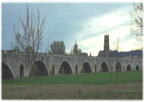 Rhônebrücke Pont-Saint-Esprit