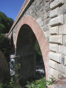 Viaduc de La Brigue (pont-rail), La Brigue, Alpes Maritimes