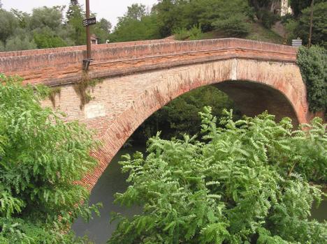 Lajous-Brücke, Rieux-Volvestre.