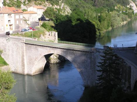 Pont de la CitadelleSisteronAlpes de Haute Provence