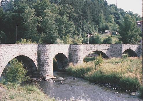 Pont de la Roderie / Pont tordu, Le Puy en Velay