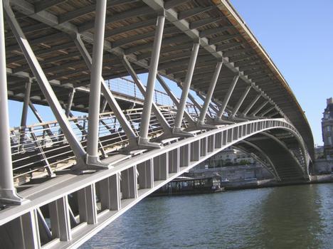 Passerelle Solférino Paris Seine