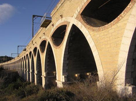 Viaduc Saint Leger, Pont rail, Saint Chamas, Bouches du Rhône
