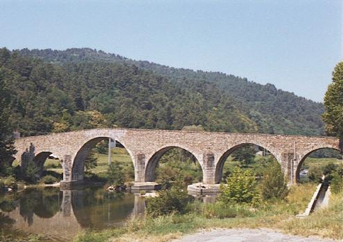 Vieux pont (pont-route), Saint-Jean-du-Gard, Gard