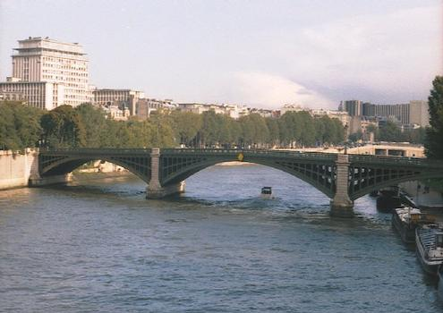 Pont Sully (pont-rail), Paris, Seine