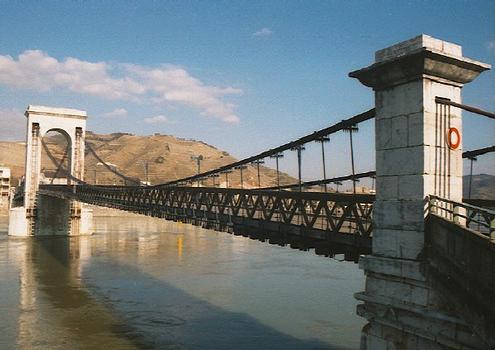 Tain l'Hermitage Pont route (piétonnier) Drôme