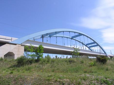 Pont TGV de Bonpas (pont-rail), Bonpas, Vaucluse