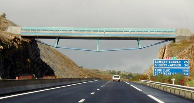 Autoroute A75Pont du Truc de la Fare