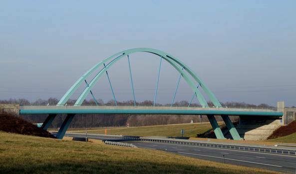 A19 - Pont de l'aire de service de Villeroy