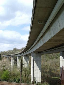 Autoroute A20 - Viaduc du Blanzou