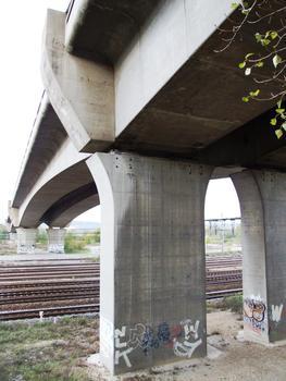 A47 - Viaduc de Ternay - Une pile