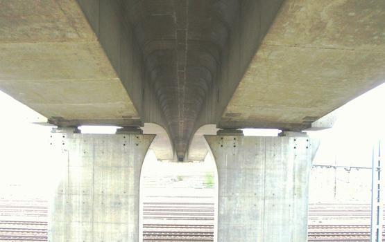 A47 - Viaduc de Ternay - Un tablier bi-caisson en béton précontraint