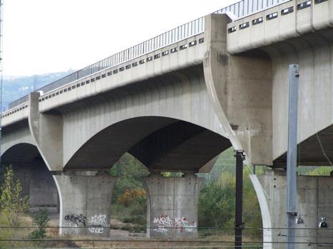 A47 - Viaduc de Ternay - Une travée