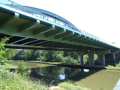 Autoroute A 77 - Briare Bridge