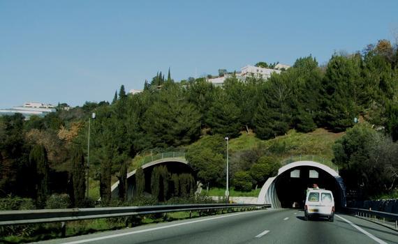 Autoroute A8 - Tunnels de Pessicart