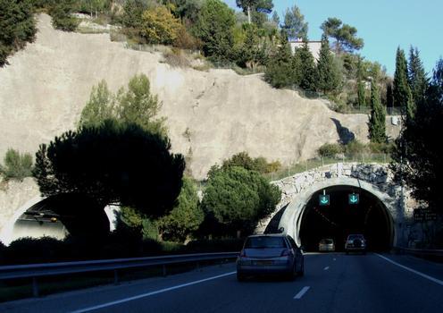 Autoroute A8 - Tunnel de La Baume