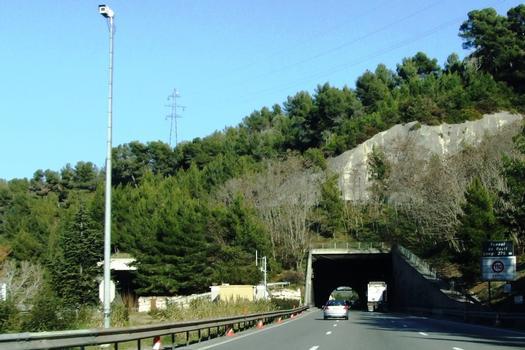 Autoroute A8 - Tunnel du Paillon