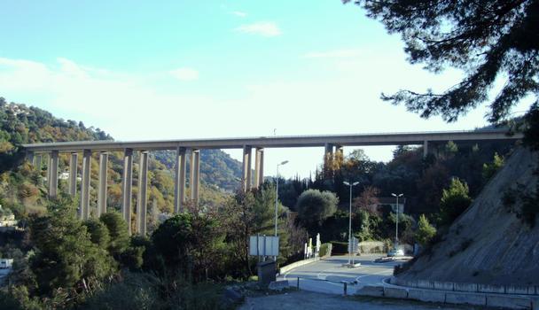 Autoroute A8 - Viaduc de Careï - Ensemble
