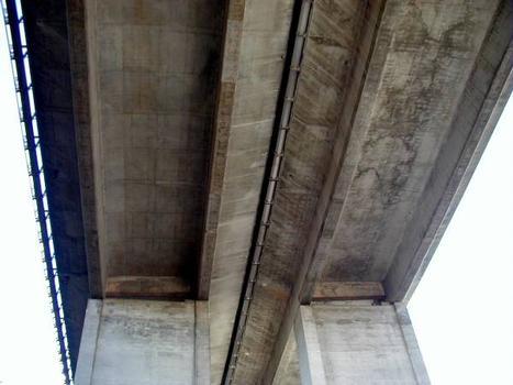 A8 - Viaduc du Luc Sous-face du tablier