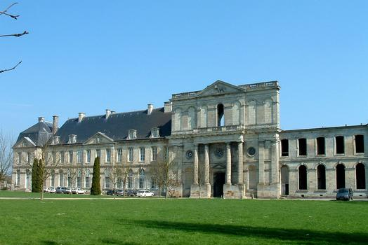 Chiry-Ourscamp - Abbaye Notre-Dame-de-l'Assomption - Façade de l'abbaye
