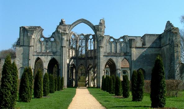 Chiry-Ourscamp - Abbaye Notre-Dame-de-l'Assomption - Vestiges de l'abbatiale