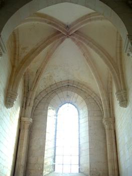 Abbaye de Pontigny - Chapelle - Voûte