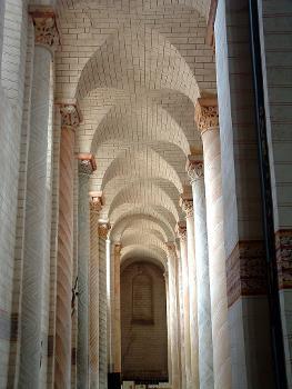 Abbaye de Saint-SavinBas-côté