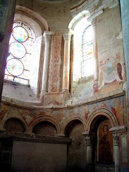 Abbaye de Saint-SavinChapelle axiale