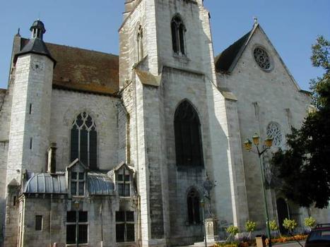 Cathédrale Saint-Caprais,AgenFaçade Sud