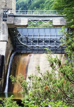 Barrage de Cize-Bolozon - Vanne «secteur»