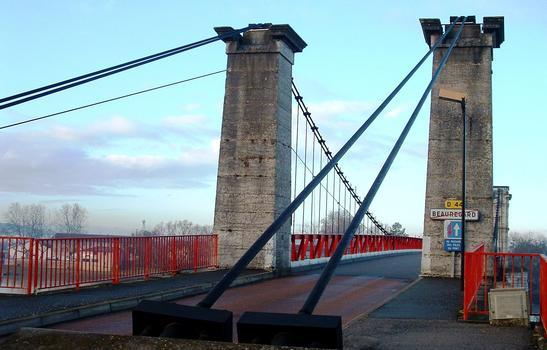 Pont de Beauregard - Pylône de rive