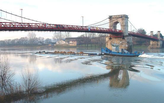Pont de Beauregard - Ensemble avec pousseur