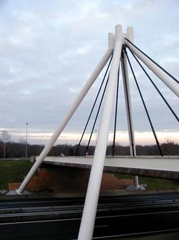 Pont de l'aire du Centre de la France (Autoroute A71)