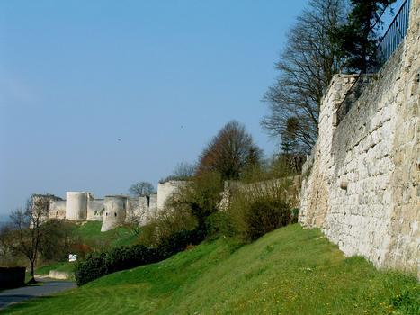 Coucy-le-Château - Rempart de la ville
