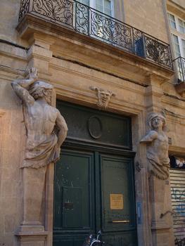 Aix-en-Provence - Hôtel d'Arbaud - 7 rue du maréchal Foch