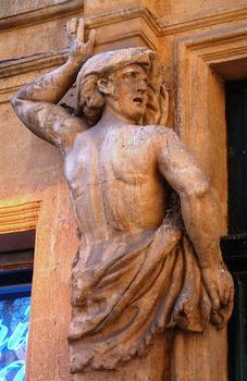 Aix-en-Provence - Hôtel d'Arbaud - Un atlante