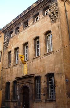 Aix-en-Provence - Hôtel d'Estienne de Saint-Jean, musée du Vieil Aix - 17 rue Gaston de Saporta