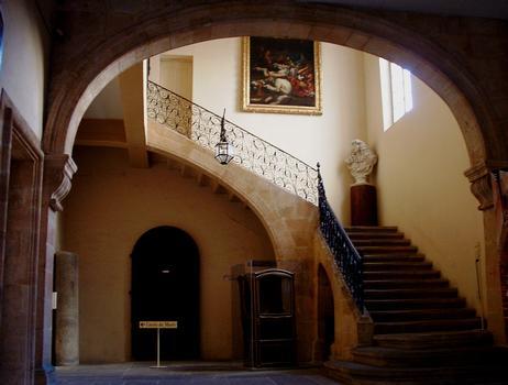 Aix-en-Provence - Hôtel d'Estienne de Saint-Jean, musée du Vieil Aix - Escalier