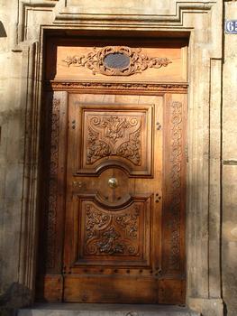 Aix-en-Provence - Hôtel de Montauron - 65 cours Mirabeau - Porte