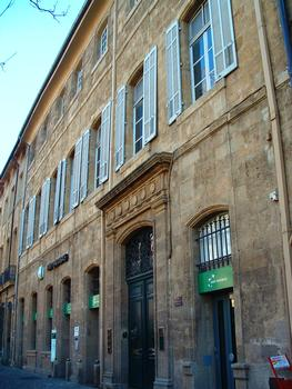 Aix-en-Provence - Hôtel Margalet de Luynes - 6 cours Mirabeau