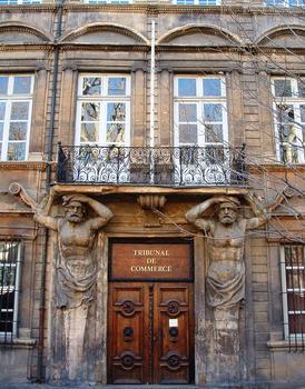 Aix-en-Provence - Hôtel Maurel de Pontevès - Elévation de la façade