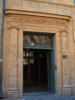 Hôtel Meyronnet de Saint Marc, Aix-en-Provence