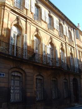 Hôtel Villeneuve d'Ansouis, Aix-en-Provence