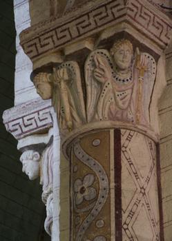 Bourbon-l'Archambault - Eglise Saint-Georges - Chapiteau
