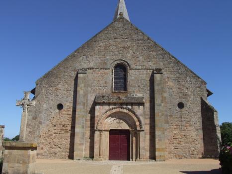 Franchesse - Eglise Saint-Etienne - Façade occidentale