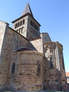 Franchesse - Eglise Saint-Etienne - Chevet et clocher romans