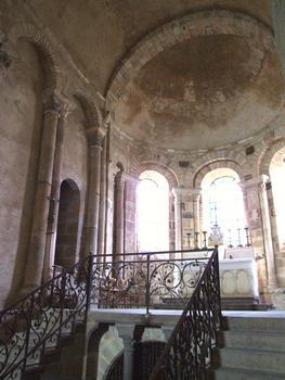 Eglise prieurale Saint-Désiré - Abside et crypte