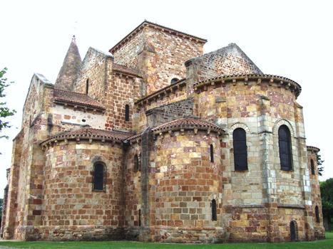 Eglise prieurale Saint-Désiré - Chevet