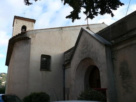Le Cannet - Eglise Sainte-Catherine - Le porche construit en 1854